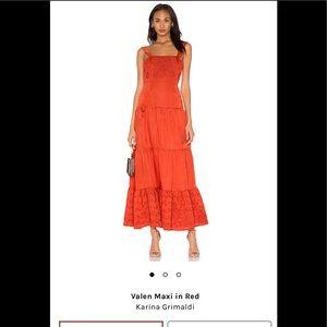 Karina Grimaldi Valen Maxi Dress Size M